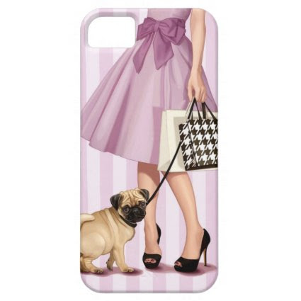 Stylish promenade iPhone 5 case