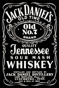 NEW A4 Jack Daniel/'s Honey Whiskey Airbrush Stencil Template Step by Step Paint