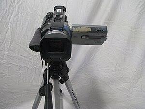 A Sony TRV-950 mini-DV digital video camera. 3...