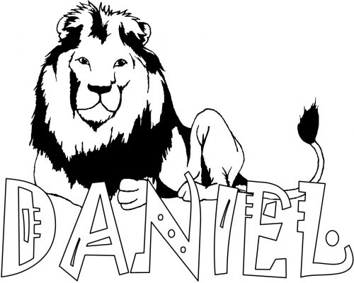9700 Top Free Bible Coloring Pages Daniel  Images