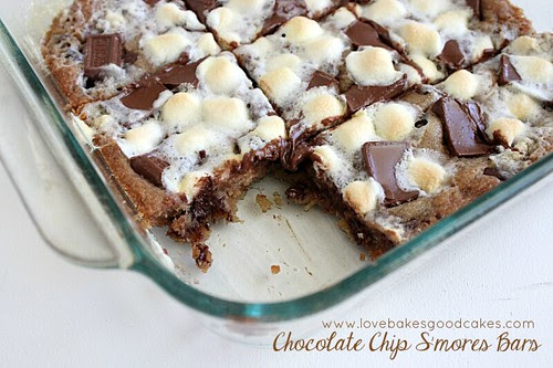 Chocolate Chip S'mores Bars 2