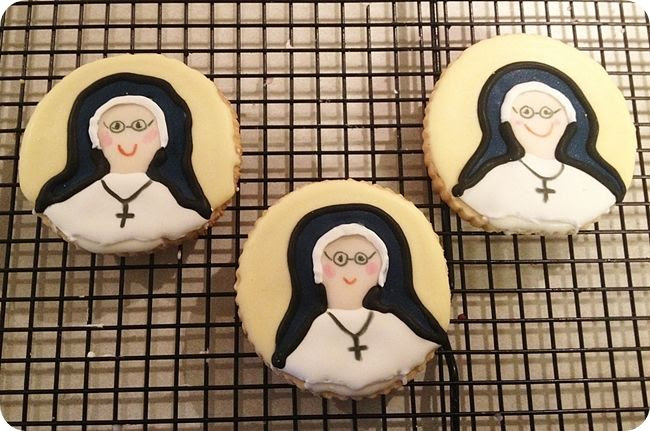 sweet nun cookies by Mil Grageas