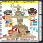 Buckets Of Memories Layered Templates - CU