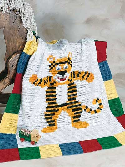 Timmy Tiger Afghan