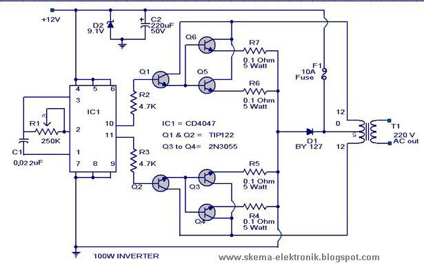 3 Cfl Ups Inverter Circuit Diagram - Circuit Diagram Images