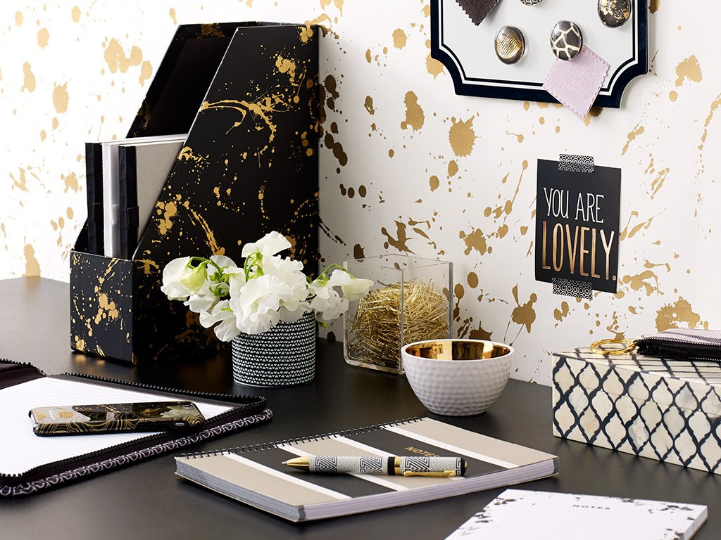 Jonathan-Adler-Black-Gold-Officeworks-Stationery-chelseatromans
