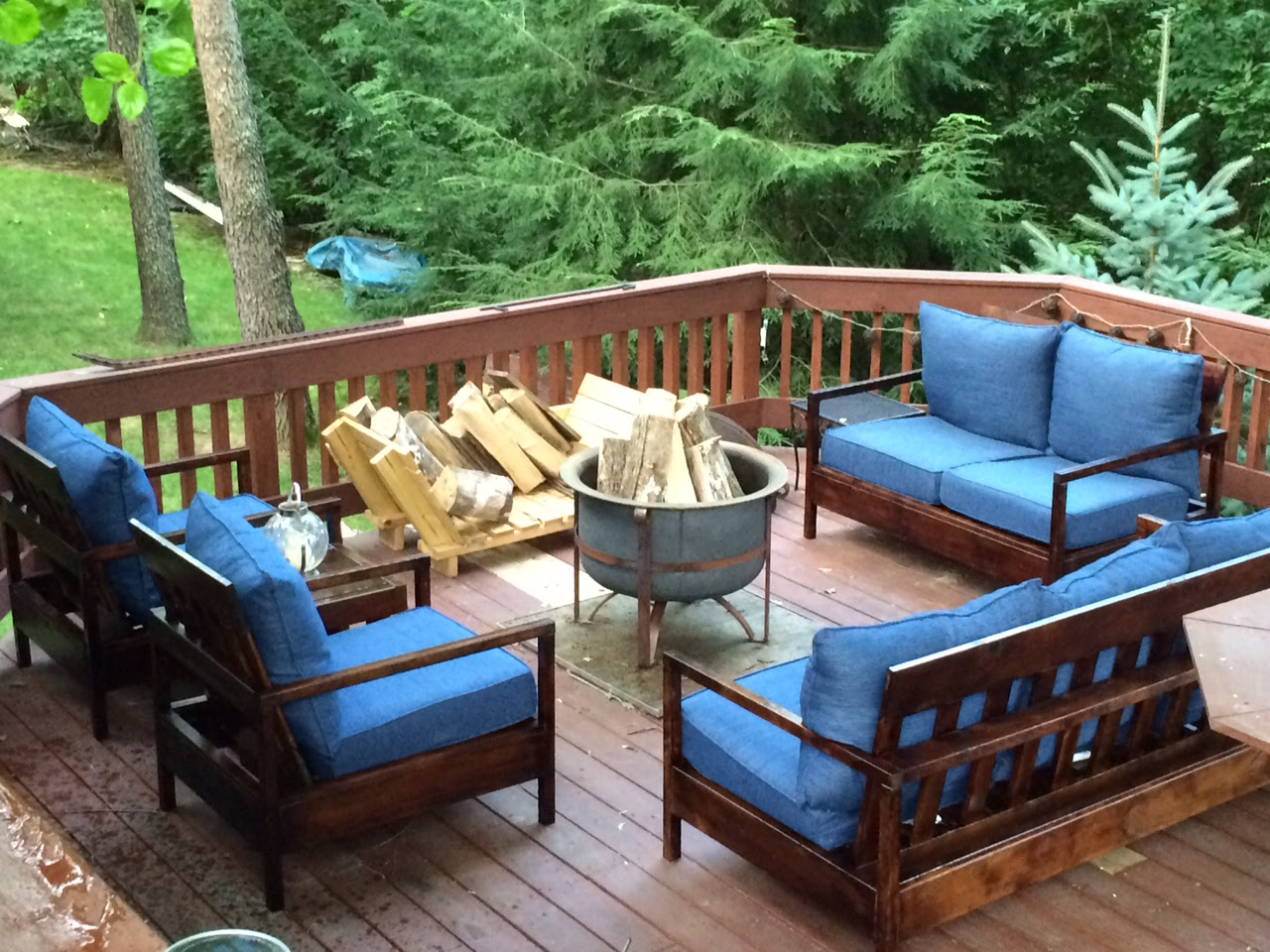 Ana White | Furniture for the Deck - DIY Projects