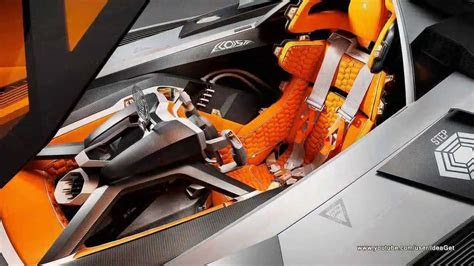 Interiors 2013 New Lamborghini Egoista Concept   YouTube