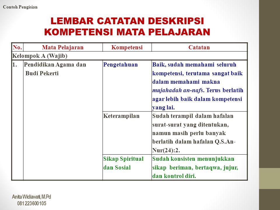 Contoh Deskripsi Nilai Pengetahuan Feed News Indonesia