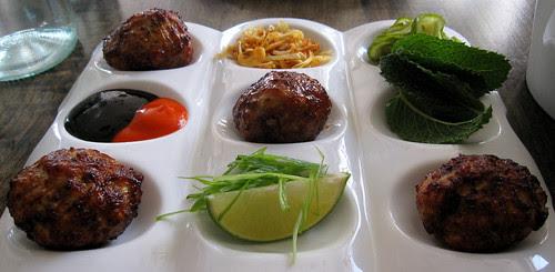 chicken dumplings, Red Medicine