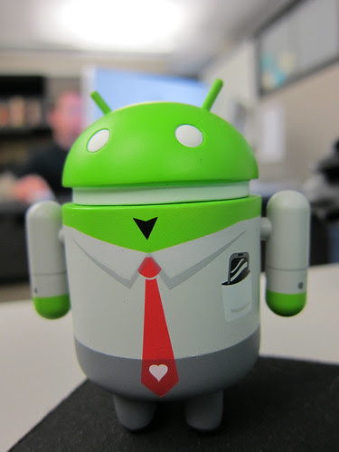Worker Android by bump, on Flickr