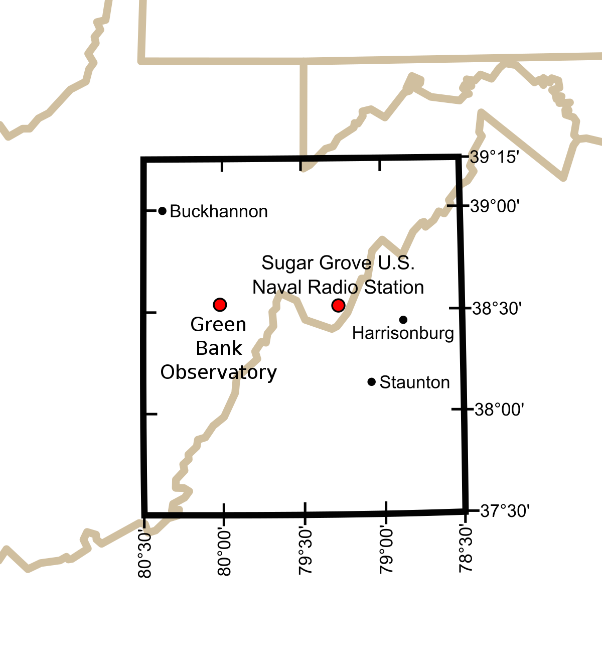 United States National Radio Quiet Zone Wikipedia