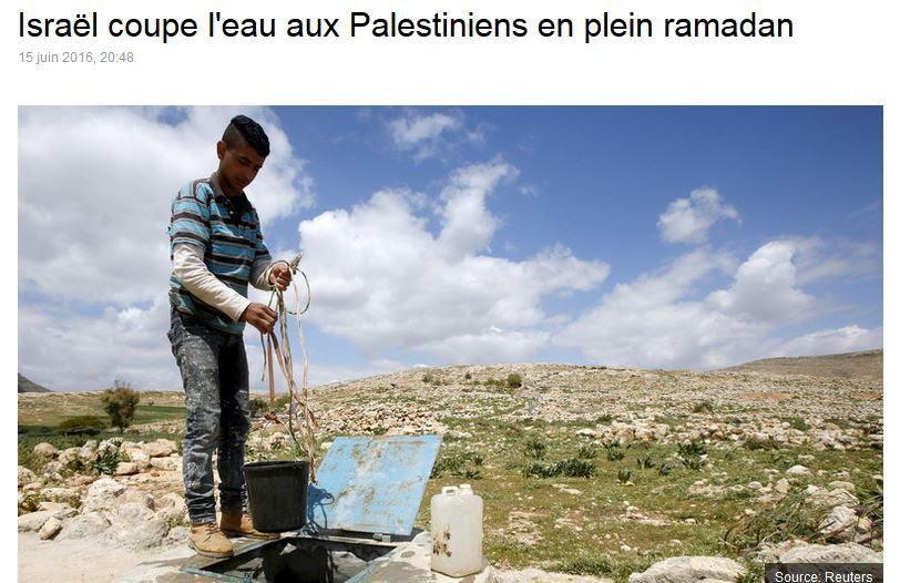 Comment alors qu'Israël est à la pointe des techniques de développement durable, vous trompez-vous de cible de cette façon?
