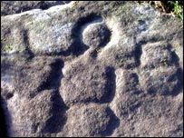 Rock art image of Cocidius