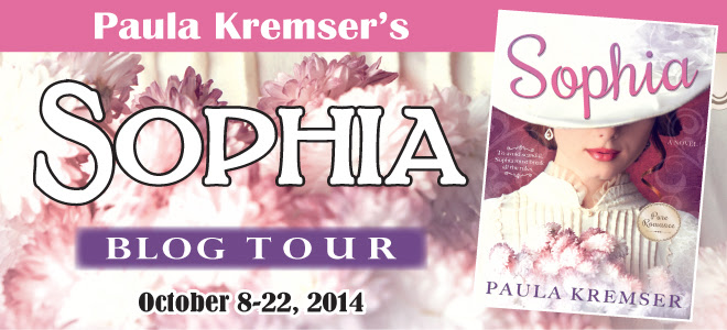 Sophia blog tour