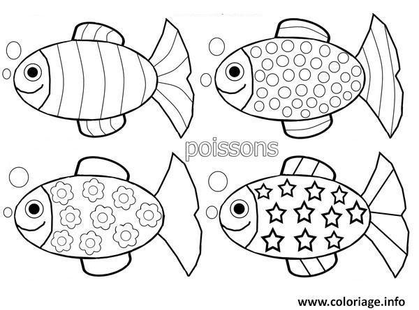 Téléchargez Et Imprimez Coloriage Poissons à Imprimer