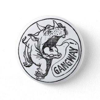 Winsor McCay's Legion of Ripsnorters' Rhinocerous button