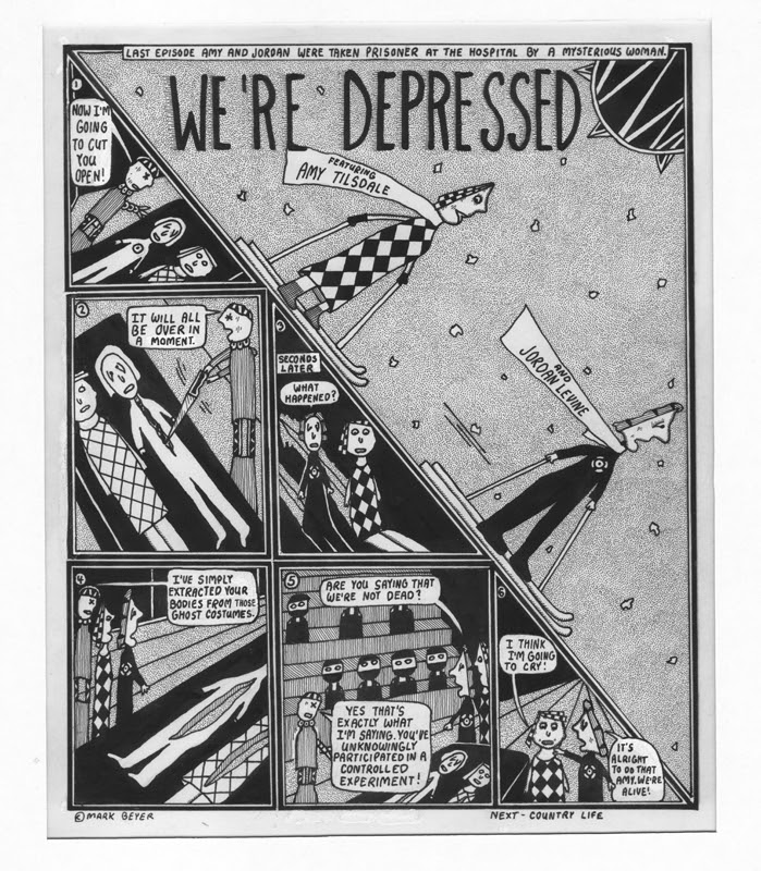 We 're Depressed  by Mark Beyer (USA) Comic Art