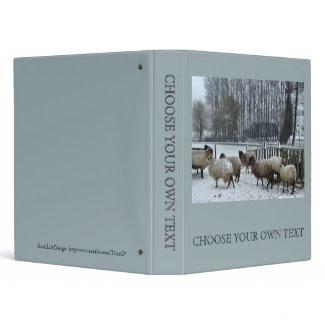 Sheep - Winter season binder