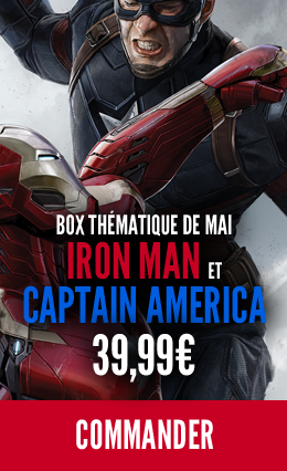 Hitek Box Iron Man / Captain America