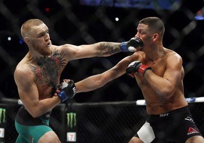 Conor McGregor x Nate Diaz UFC 202 - AP (Foto: AP)