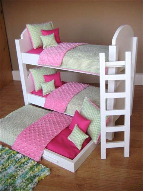 deluxe small bunk bed design  teenage girl  cream