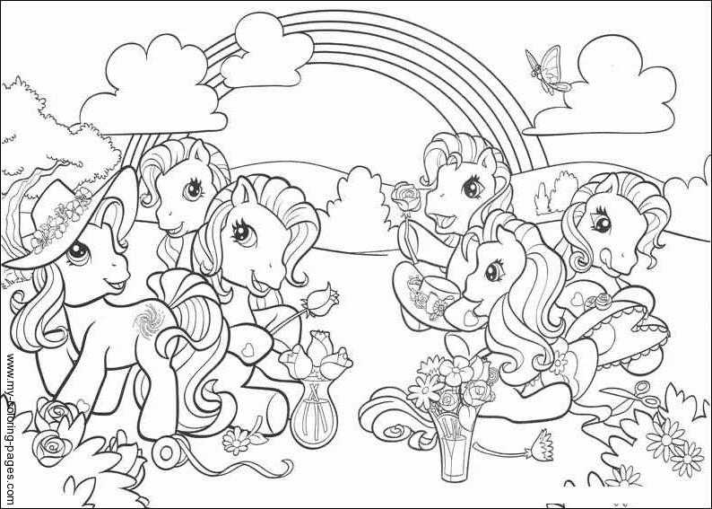 149 Dessins De Coloriage Poney à Imprimer Sur Laguerchecom Page 10
