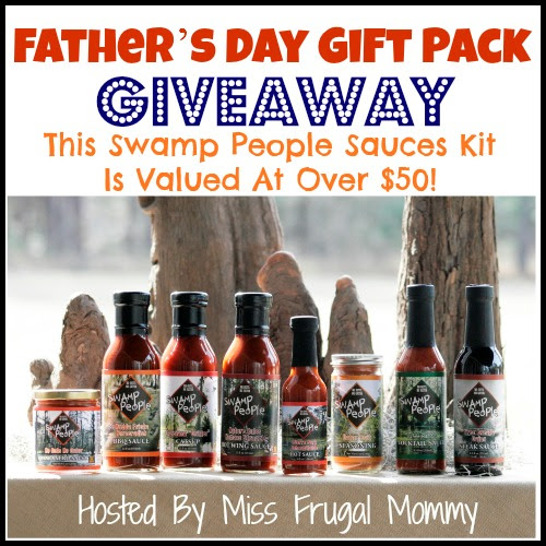 Father's Day Giveaway: Swamp People Sauces Kit