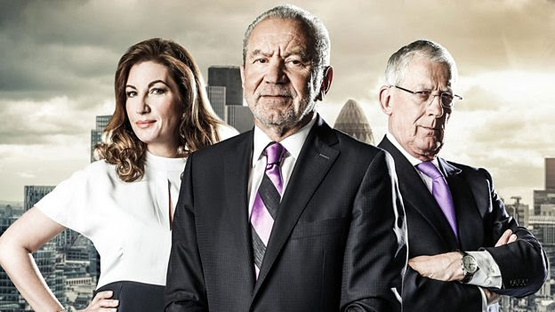 An image of Lord Sugar from The Apprentice.