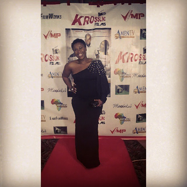 Uche Jombo Shows-off Her Baby Bump At 'The Other Side