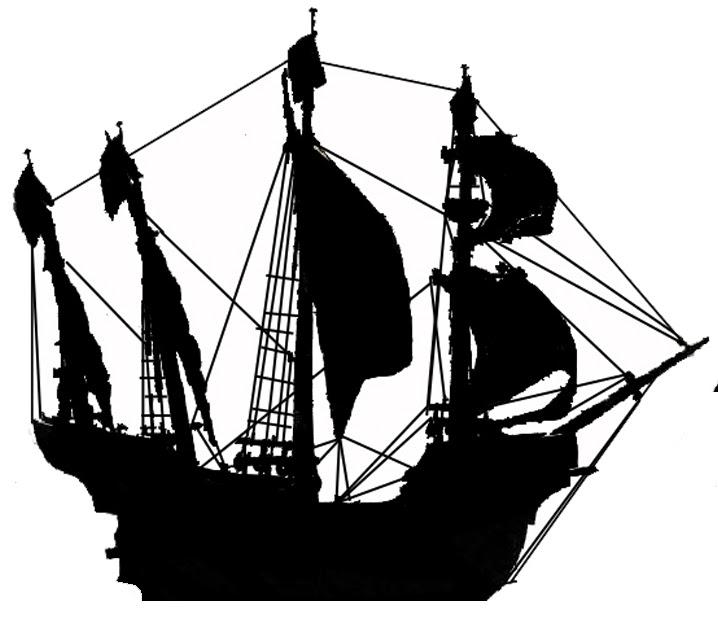 Encantador Plantillas De Barcos Piratas Patrón - Colección De ...