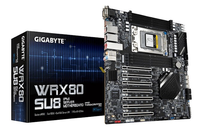 Gigabyte is preparing a motherboard on WRX80 chipset - AMD Ryzen Threadripper PRO chipset will be available soon