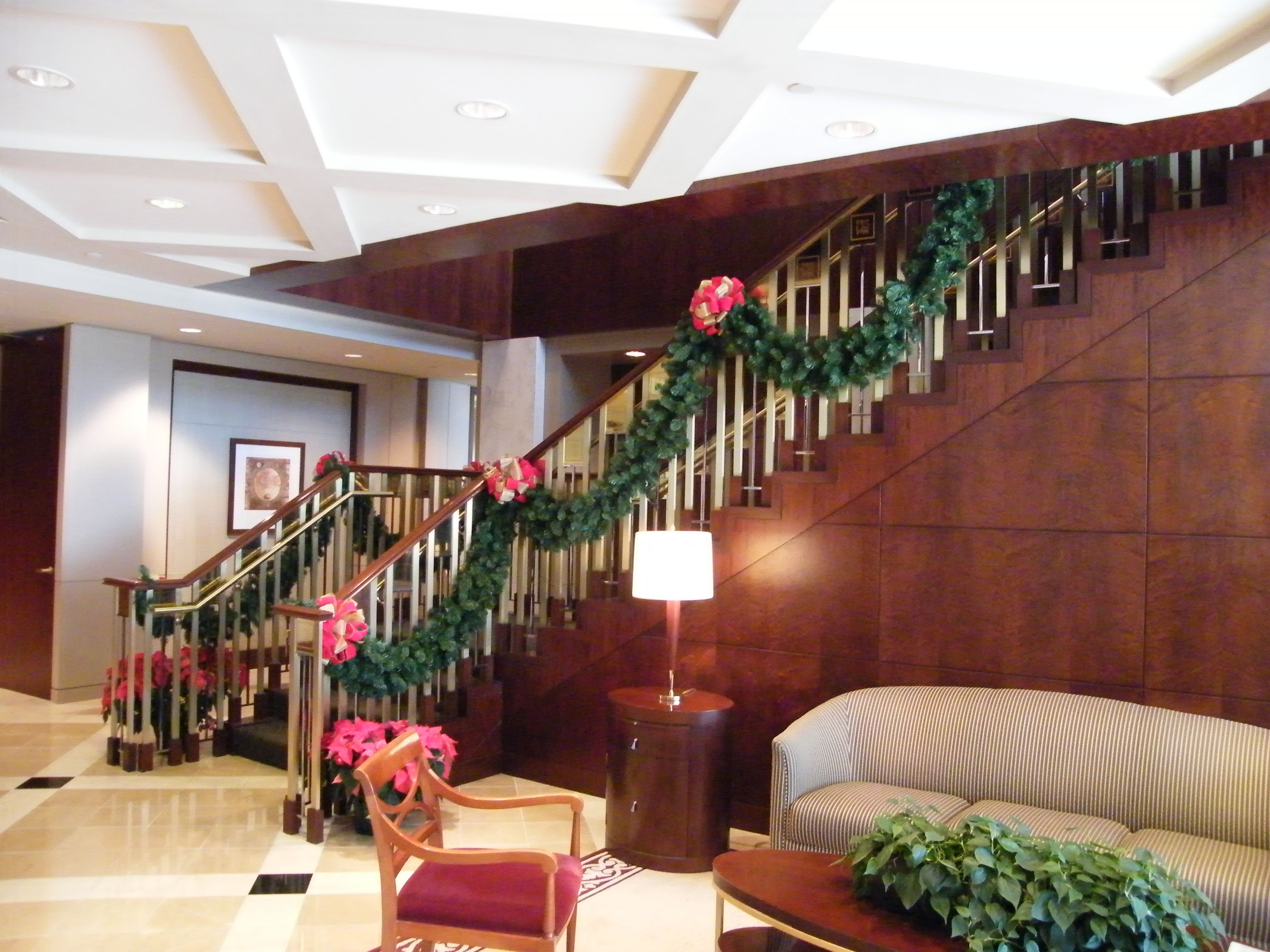 office lobby holiday decor holiday decor pinterest