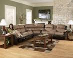 Presley Cocoa 3 Piece Reclining Sectional Sofa | Sectionals
