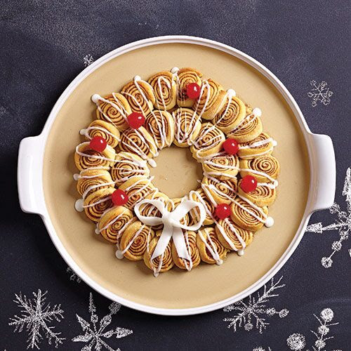 Mini Cinnamon Roll Wreath Recipes Pampered Chef Canada Site