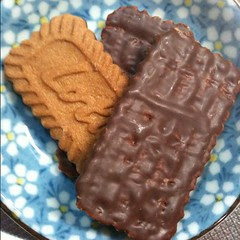 lotus speculoos biscuits with #chocolate FTW #japan