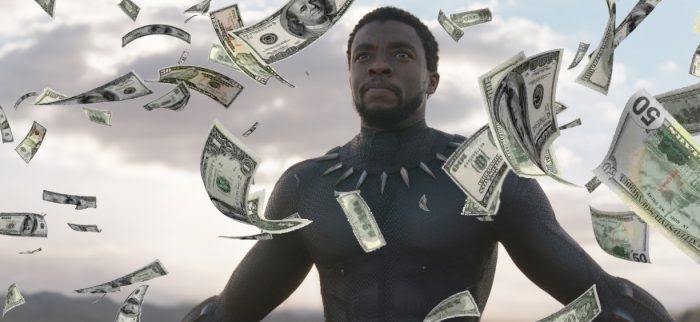 Image result for black panther surpasses the avengers
