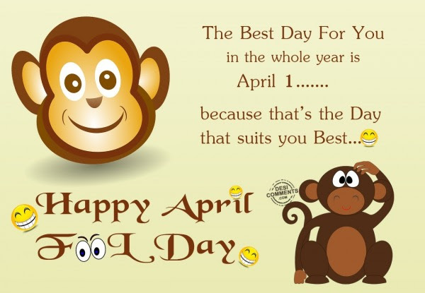 April Fool\u2019s Day Pictures, Images, Graphics for Facebook, Whatsapp, Pinterest