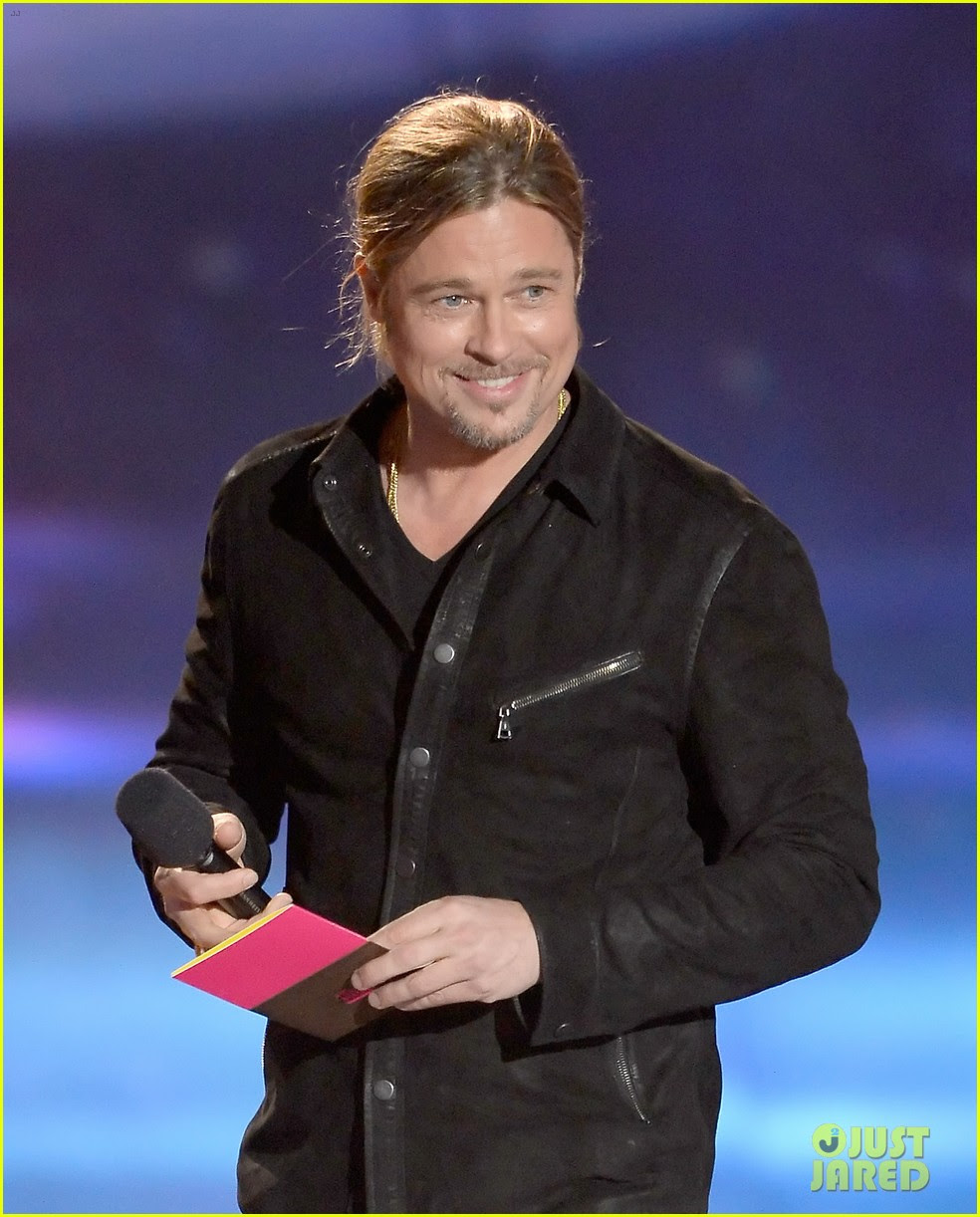 brad pitt mtv movie awards 2013 03