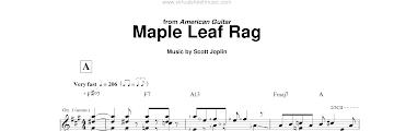 Maple Leaf Rag Piano Sheet Music