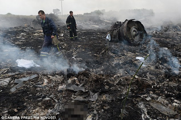 A total of 298 passengers were killed on the flight which U.S. intelligence authorities believe was shot down by a surface-to-air missile in Ukraine