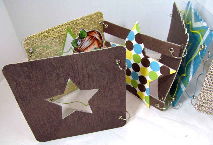 Shaped Mini Album Monica Edwards