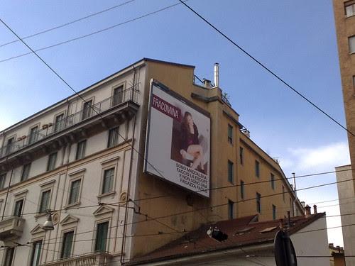 Pubblicità in via Torino by durishti