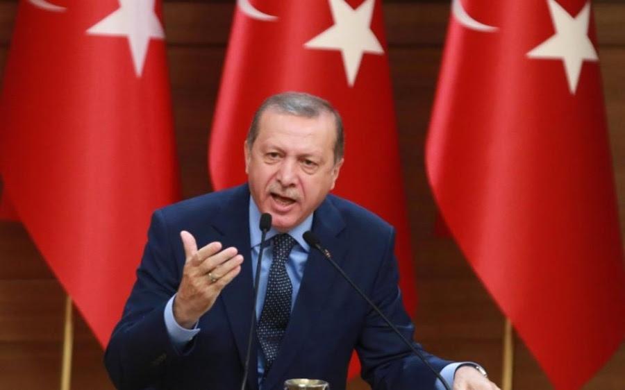 Νέο παραλήρημα Erdogan: Την Ιstanbul δεν θα την κάνετε... Κωνσταντινούπολη - Όποιος επιχειρήσει να μας διώξει, θα φύγει σε φέρετρο