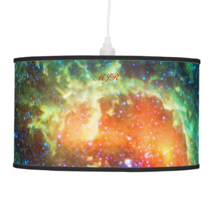 Monogram Tadpole Nebula, Auriga Constellation Hanging Pendant Lamps
