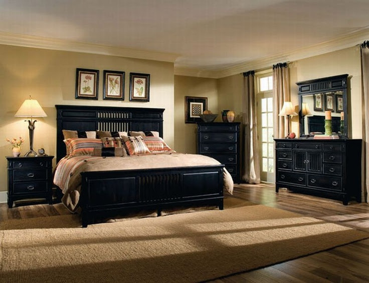 Dark Bedroom Furniture Decorating Ideas Brooklyn Apartment