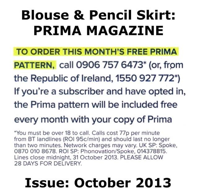 Prima Magazine - Pattern, October 2013 (03)
