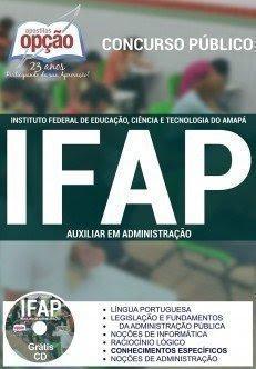 Apostila concurso IFAP AMAPA AUXILIAR EM ADMINISTRAÇÃO