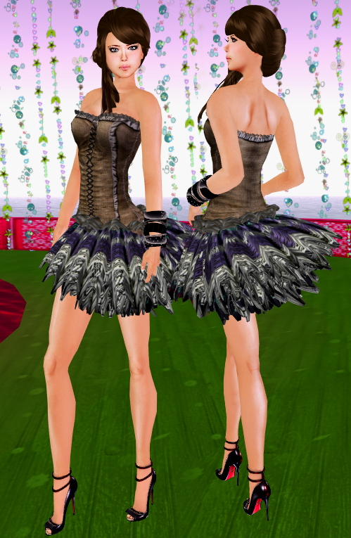 NEW! SHIKI-Corset Dress TIMES SQUARE TRIBAL