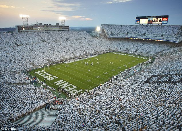 No more singing: Penn State will not blast Sweet Caroline during football games anymore because of the potential for double entendres in the wake of the sex abuse scandal that rocked the athletic program